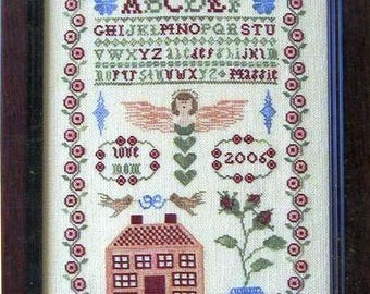 Maggie's Sampler by Midsummer Night Designs Counted Cross Stitch Pattern/Chart