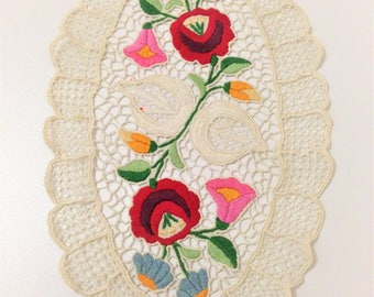 Floral Lace Embroidery