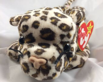 Ty Beanie Baby Freckles the Leopard Original MWT Style 4066  June 3, 1996 Gift Quality