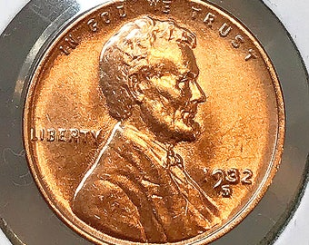 1932 D Lincoln Wheat Cents - Gem BU / MS RD / Unc