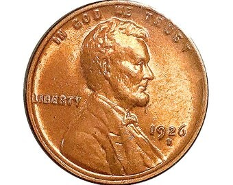 1926 D Lincoln Wheat Cent - Gem BU / MS RD / Unc