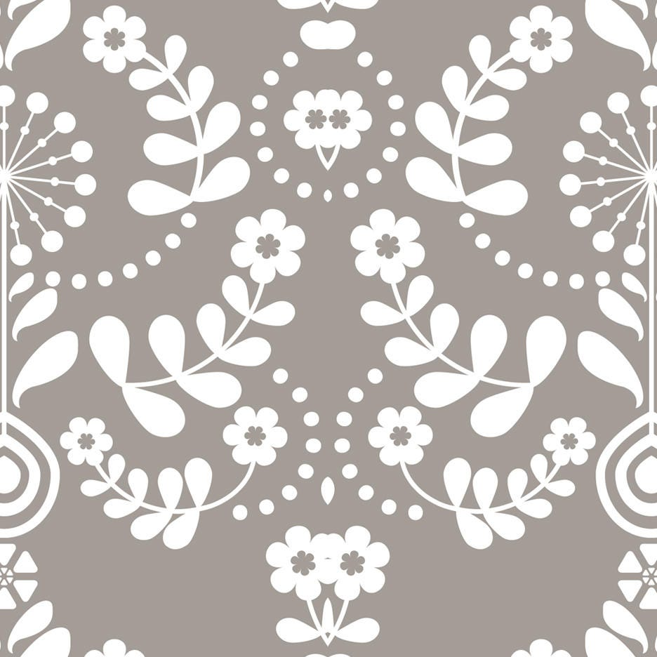 Seamless floral damask peel and stick wallpaper 185 Floral peel and stick wallpaper