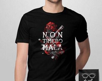 015 - Non Timebo Mala -- Supernatural Inspired Shirt -- S-6XL