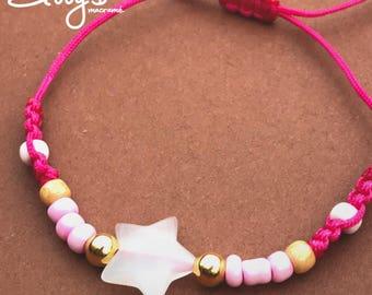 Simple Pink Bracelet