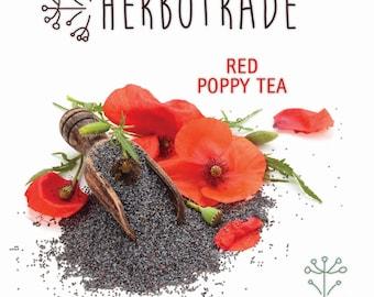 Red poppy, Papaver rhoeas, Premium Quality Red poppy 90gr / 3 oz