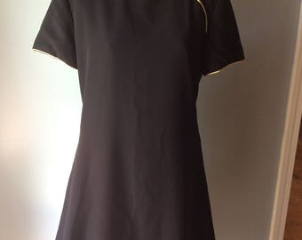 Vintage Womens Evan Picone Asian Style Dress size 12