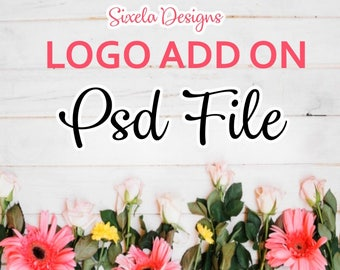 PSD File - Logo Add On