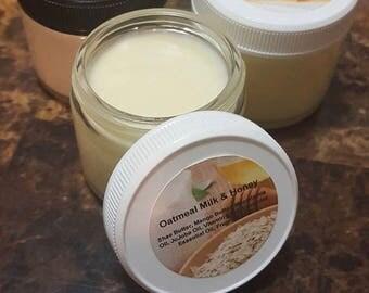 Oatmeal Milk & Honey Natural Body Butter
