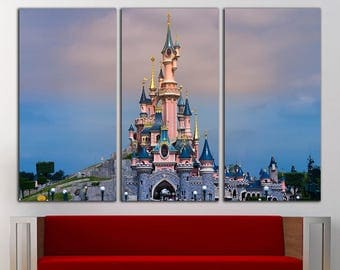Disney Castle Print Disney Castle Wall Art Disney Castle Wall Decor Disney  Wall Art Disney Print Part 93
