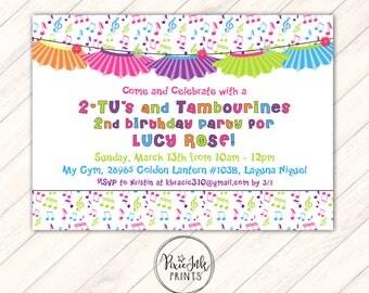 Tutu Party Birthday Invitation, Dance Birthday Invitation, Tutu Birthday Party Printable, Girl Birthday Party Invitation, Tutu Invite