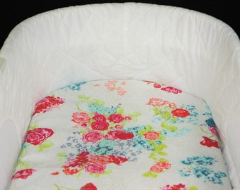 Bassinet Sheet - Nici Flora Aera - Moses basket sheet