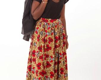 Skirt long wax
