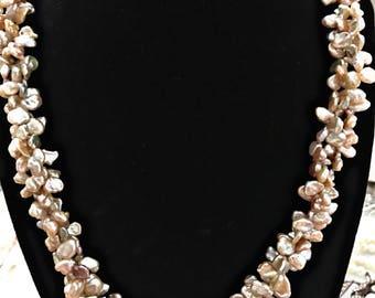 Keshi Freshwater Pearl Necklace