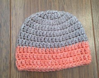 Baby girls hat / baby hat / 0-3 months