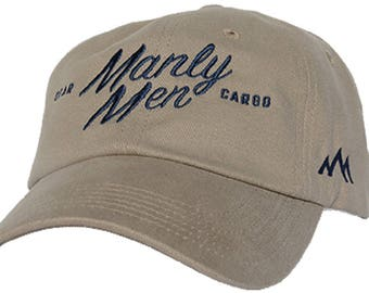 Manly Men cap with mountain icon