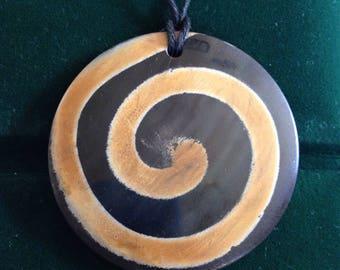 Hypnotize Me Spiral Pendant
