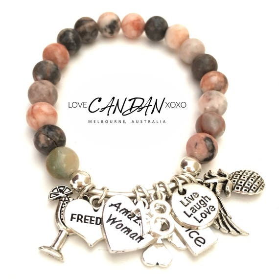 18th Birthday Bracelet Great Gift Freedom Amazing Woman Clover