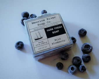 Wild Blueberry Soap