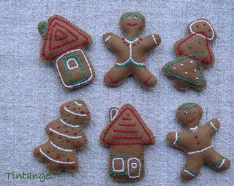 Gingerbread Cookies - PDF pattern -Instand download