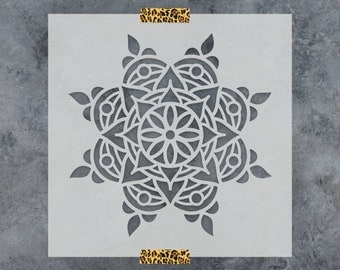 Rangoli Stencil - Reusable DIY Craft Stencils of a Rangoli Pattern