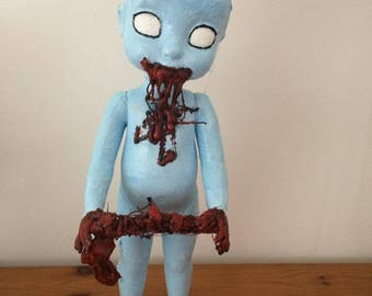 Hungry Zombie Baby Doll