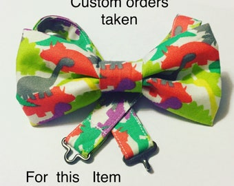 Custom Bow Tie - Made to order - Choose your fabric from MarilynsPatchwork