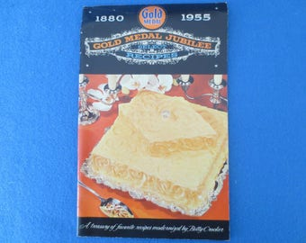 1955 Gold Medal Flour Jubilee Select Recipes Advertising Cookbook