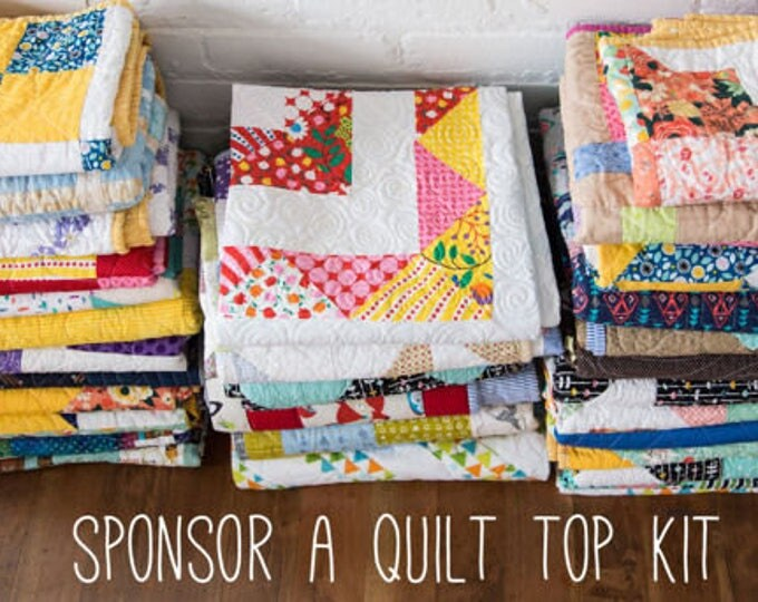 Featured listing image: Heart Builder Quilt Top Kit - Sponsorship
