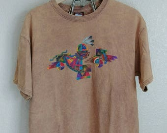 90s Tribal T Shirt - Clean grunge and ready to wear