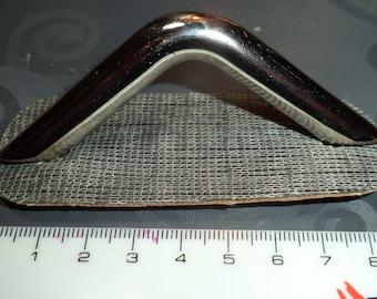 frame handbag (that screws) silver metal