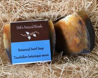 Botanical Swirl Soap 150g