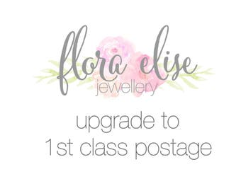 Upgrade to 1st class postage
