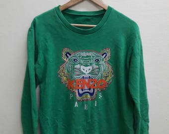 Vintage Kenzo Tiger embroidered sweatshirt