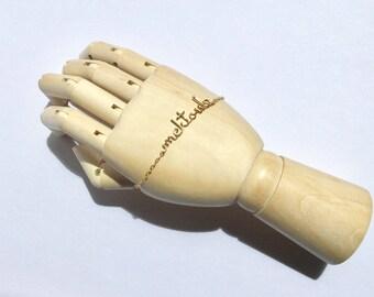 """Sale Bracelet chaînette it's written """"Mektoub"""" gold filled 14k"""