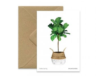 A6 - FIDDLE LEAF TREE card