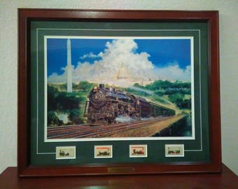 The Capital limited by Jim Deneen signed rare print