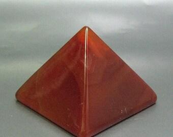 25% OFF Carnelian Pyramid - Item 62449