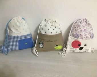 Simple backpacks