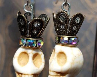 Dia de los muertos, Halloween earrings