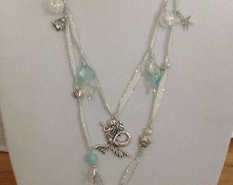 Magical Mermaid Lariat Necklace