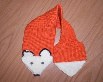 Adjustable Fox Scarf