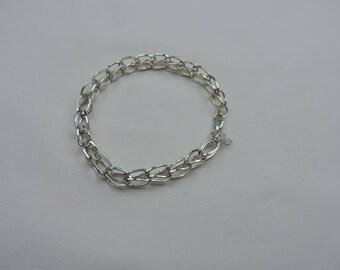 Sterling Silver Links Bracelet