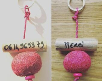 """""""Merci"""" 17564 keychain"""