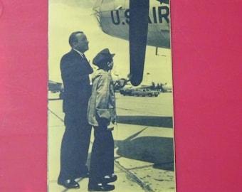 Vintage 1960s Strategic Aerospace Museum Pamphlet - Offutt AFB Nebraska - Worldwide Priority Shipping!