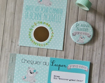 Big brother pregnancy announcement Kit