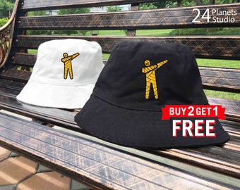Mummy DAB Embroidered Bucket Hat by 24PlanetsStudio
