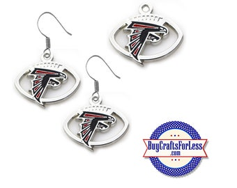 ATLANTA Football CHaRM or EARRiNGS - Super CUTE!  +FREE SHiPPiNG & Discounts*