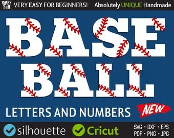 Baseball Font Svg Baseball Monogram Svg Softball Font Svg Sport Letters Svg Cricut downloads Silhouette Cut Files for Vinyl Cutter machine