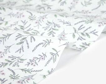 Dailylike (cotton) - In peace Lavandula Fabric- 50cm