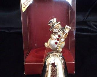 Kirk Stieff musical Christmas bell 2001